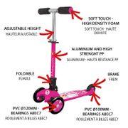 Trottinette à trois roues Adventure Kid Princess Nextreme GRG-004