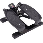 Mini stepper a pression hydraulique avec corde elastique noir 78