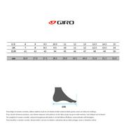 Chaussures Giro Empire VR70 Knit vert lime noir
