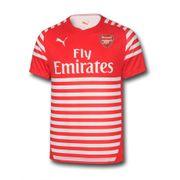 2014-2015 Arsenal Puma Pre-Match Top (Red-White)