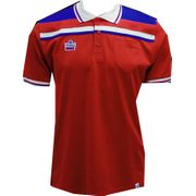 Admiral England Retro Polo Maillot (rouge)