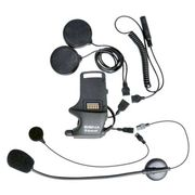 Sena Helmet Clamp Kit For Speakers And Earbuds With Attachable Boom Microphone And Wired Microphone