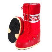 Nylon rouge moon boot