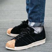 Adidas Superstar 80S Cork Cblackcblackowhite