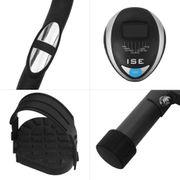 SE Vélo d'Appartement Magnétique Fitness, 8 Niveaux de résistance réglables, Capteurs d'impulsion et Moniteur LCD SY-8801