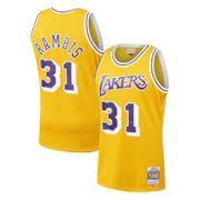 Maillot NBA swingman Kirt Rambis Los Angeles Lakers Hardwood Classics  Mitchell   ness jaune Taille - 221e328c30c0