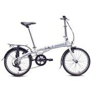 Vélo-Pliant Vybe D7 Blanc