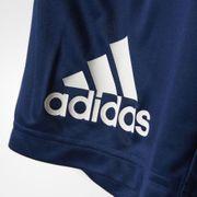 Adidas Performance Shrt Yb Gu Kn Jr Bleu Short Court Enfant Multisports