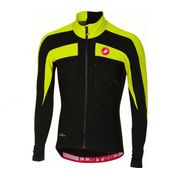 Castelli - Trasparente 4 Jersey Hommes Maillot de vélo (noir/jaune)