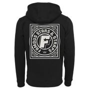 Sweat Capuche Famous Stars and Straps Strike Zip Hoody Noir