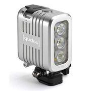 Knog Lights Qudos Action Video Light For Gopro Silver