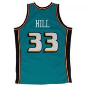 Maillot NBA swingman Grant Hill Detroit Pistons Hardwood Classics Mitchell & ness vert taille - XL