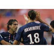Maillot domicile PSG 2012/2013 Ibrahimovic n°18 L1