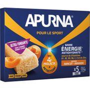 Lot de 15 barres fondante Apurna Abricot/Amande