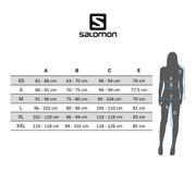 T-shirt Salomon Agile manche longue vert bleuté femme