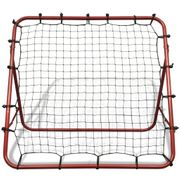 Accessoires pour buts de football Admirable Filet de rebond de football ajustable 100 x 100 cm