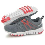 Reebok Realflex Train 4.0 gris, chaussures de training / fitness femme