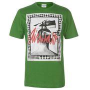 T-shirt d'entrainement Imprimé Graphique Manche Courte Ras du Cou Léger