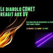 Diabolo Comet jaune + sac de rangement