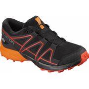 Salomon - Speedcross Cswp Enfants chaussure de course (noir/Orange)