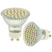 Lampe pour croissance plante-2.4 W Blanc Chaud 48 Ampoule spot LED, Type de Base: GU10