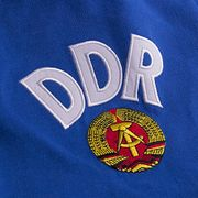 DDR WC 1974 Short Sleeve Retro Maillot 100% cotton