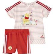 Dy Bébé Fille Ensemble Rouge Adidas