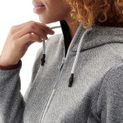 Polaire ASTER HOODIE 2.0 W Misty Grey - Femme - Randonnée, Ski, Lifestyle