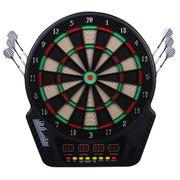 Cible jeu de flechettes électronique professionnel 243 jeux variés noir 62