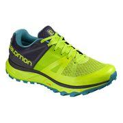Chaussures Salomon Trailster GTX jaune bleu