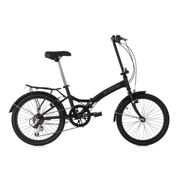 Vélo pliant 20'' FOLDTECH noir 6 vitesses KS Cycling