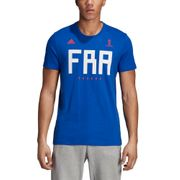 T-shirt supporter France adidas Russie 2018