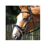 FFS Equitation Bridon Shiny -Protanner- Noir COB (pur sang) 46bf4652b33