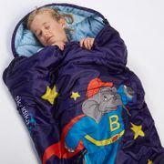 Benjamin L'Eléphant - Sac de Couchage Enfant Momie - jusqu'à 140cm - Etoiles