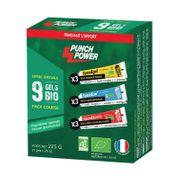 """Pack de 9 gels Punch Power †"""" 25g"""
