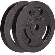 Poids disques en fonte 30 kg (2x15 kg) Hop-Sport