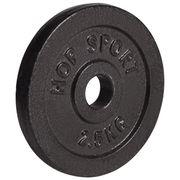 Poids disques en fonte 10 kg (4x2,5 kg) Hop-Sport
