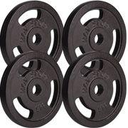 Poids disques en fonte 20 kg (4x5 kg) Hop-Sport