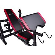Banc de musculation r?glable HS-1075, pupitre ? biceps