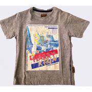 SRK T shirt manches courtes Garçon  ECETUP1016  gris