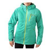 Peak Mountain   Blouson de ski femme ACIXI vert/noir