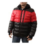 Peak Mountain   Doudoune homme CAPTIN  Noir/rouge