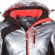 Peak Mountain - Doudoune de ski femme ACILVER-argent/noir