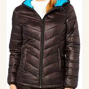 PEAK MOUNTAIN Ski alpin Peak Mountain - doudoune fine   capuche femme ANSEO- noir ceef509cc1ce