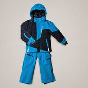 Peak Mountain - Ensemble de ski ECORO 3/8 ans-bleu/marine