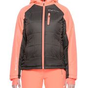 Peak Mountain - Blouson de ski femme ACEPEAKarron/orange