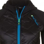 Peak Mountain - Blouson polar shell bi-mati�re femme ACERLA-noir/noir