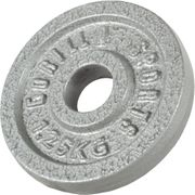 Gorilla Sports - Poids disque en fonte 1,25 Kg