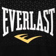 Nouveau Sweat-shirt à Capuche Manches Courtes Everlast Noir Saison 2018/2019 + 1 T-shirt Offert