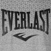 Nouveau Sweat-shirt à Capuche Manches Courtes Everlast Gris Saison 2018/2019 + 1 T-shirt Offert